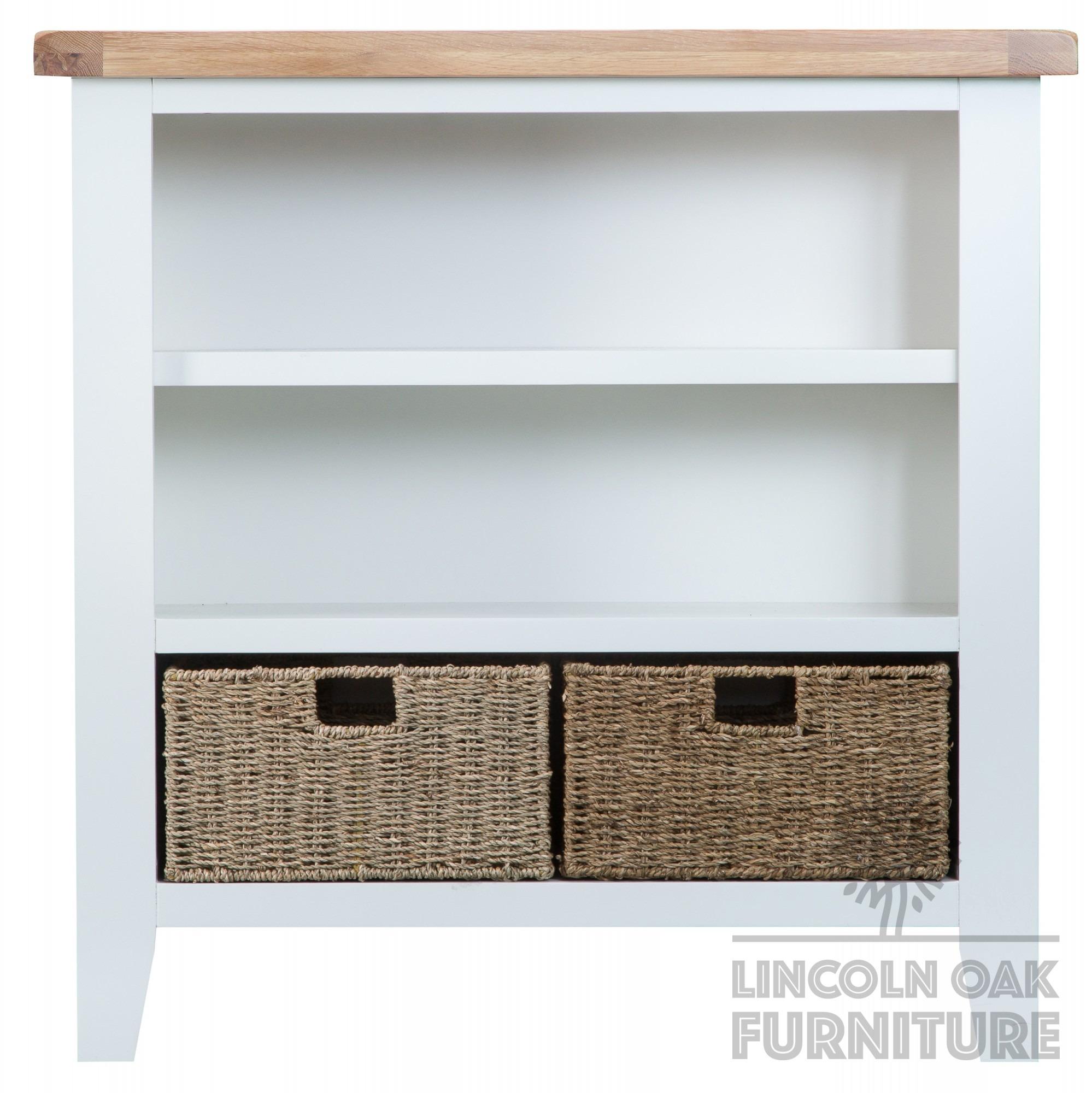 Carlton Oak Bookcase Small